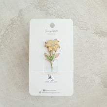 Load image into Gallery viewer, Lily Enamel Pins