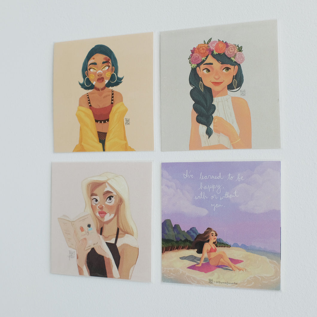 Feminine Power Square Prints