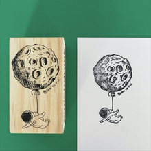 Load image into Gallery viewer, Born to Fly Wooden Stamp