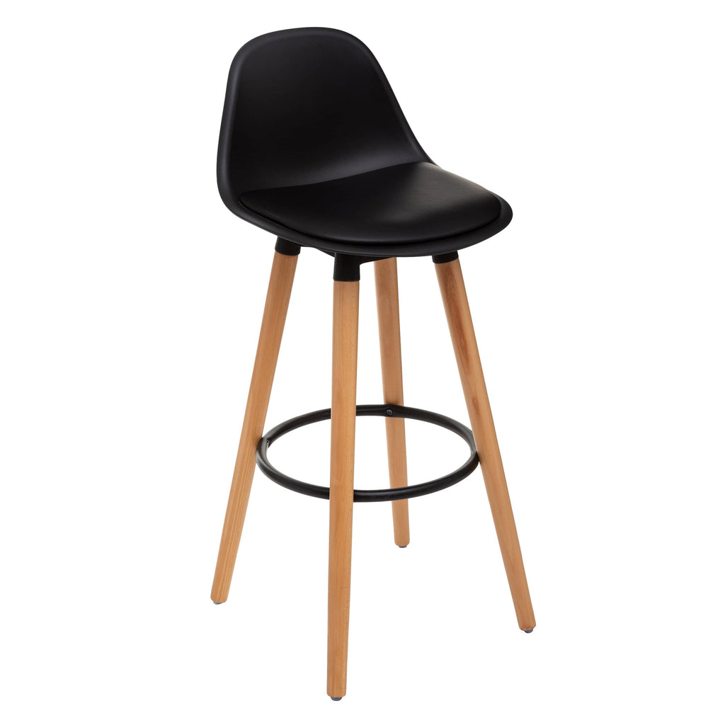 Sgabello bar Scandinavo Nero