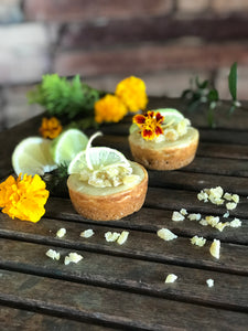 The Great British Baking Show Vegan Challenge Desserts Week Recipe: Peter's Key Lime Mini Cheesecakes