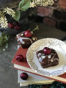 The Great British Baking Show Vegan Challenge Patisserie Week Recipe: Laura's Black Forest Cube Cakes