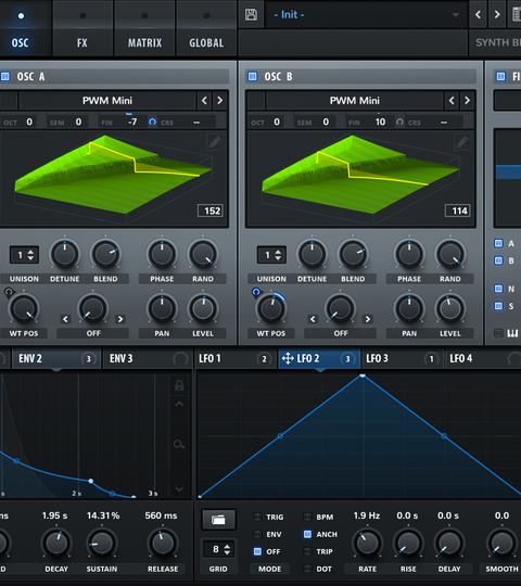 Xfer Serum Plugin Digital Wavetable Synth Preset