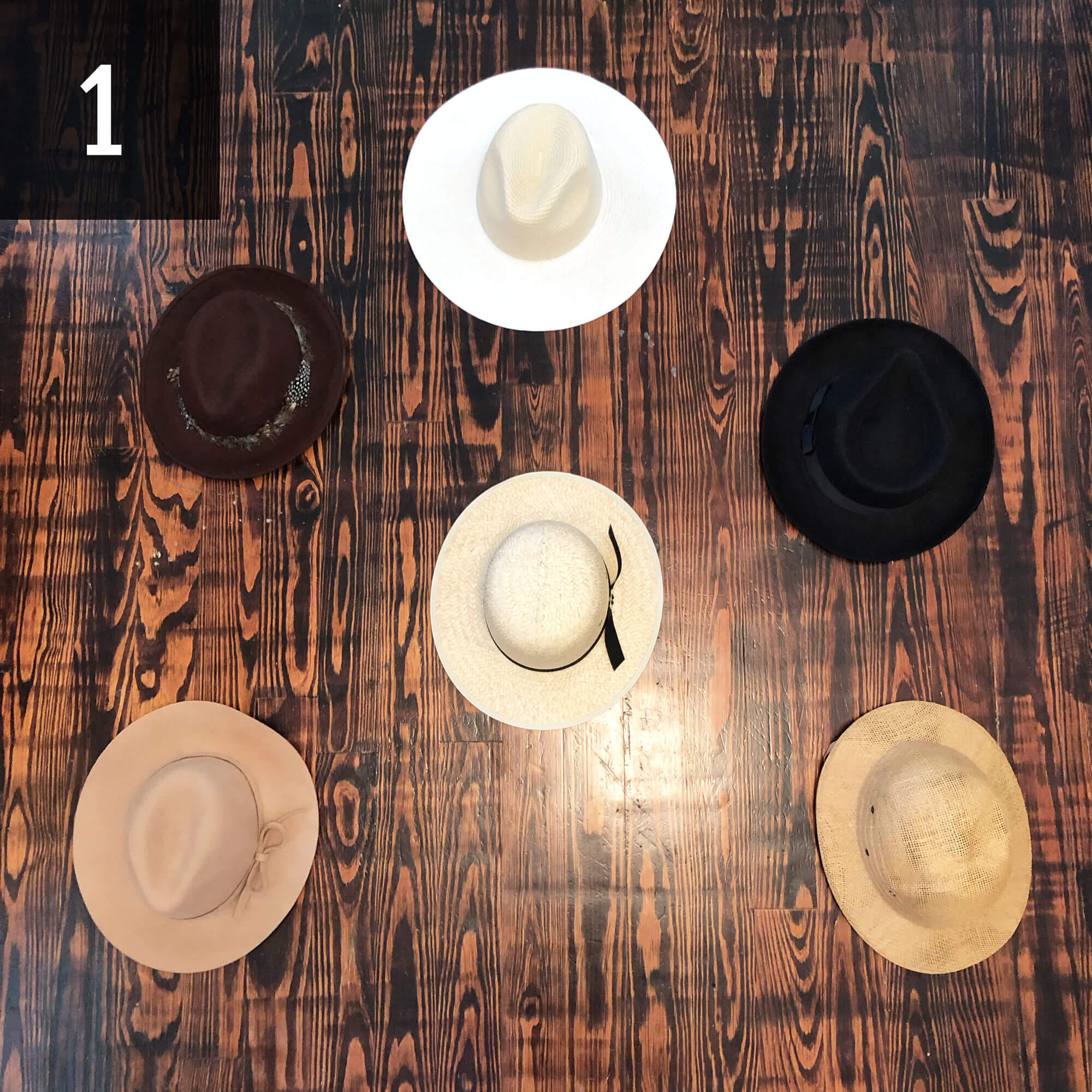 3 Easy Steps To Make A Hat Wall Urban Southern