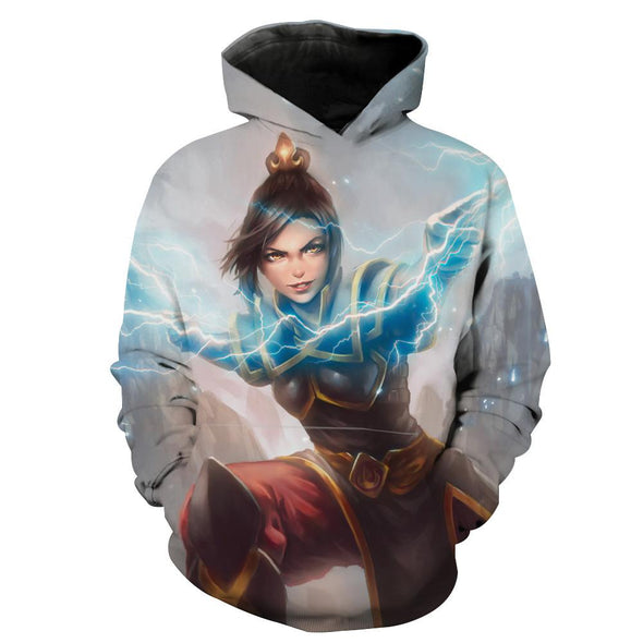 Azula Hoodie - Avatar The Last Airbender Azula Clothes - Hoodie Now