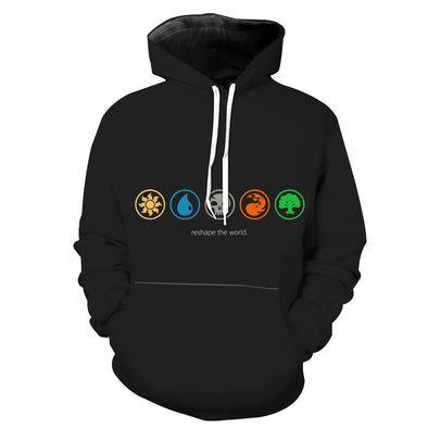 Magic The Gathering Clothing - Reshape The World Color Hoodie - Hoodie Now