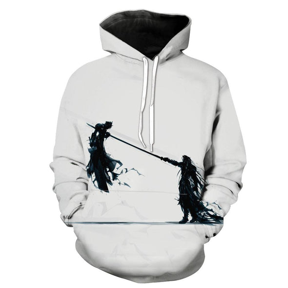 Cloud and Sephiroth Hoodie
