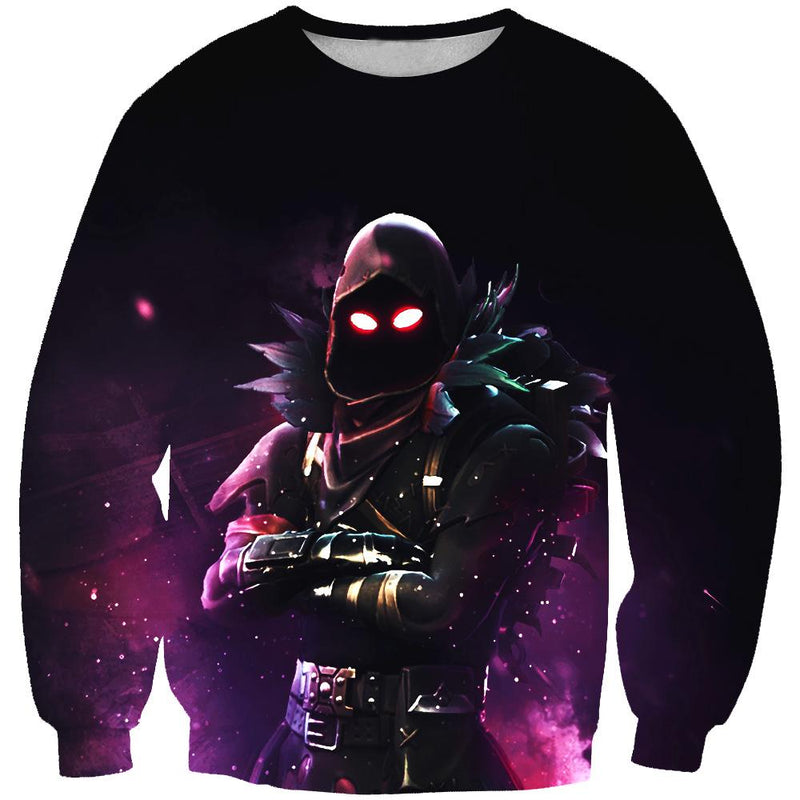 Raven Sweatshirt - Fortnite Clothing and Sweaters - Hoodie Now