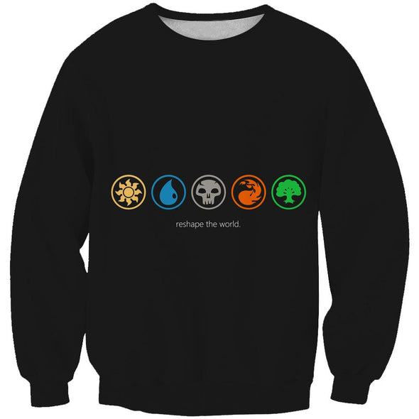 Magic The Gathering Clothing - Reshape The World Color Sweatshirt - Hoodie Now