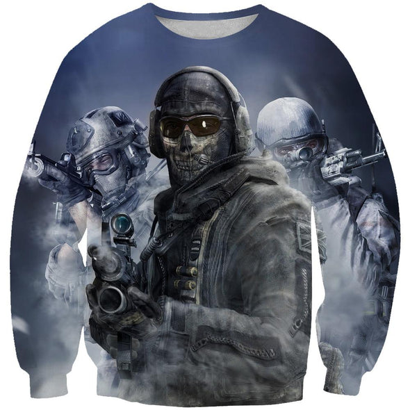 Call of Duty Sweatshirt - Call of Duty Clothing - Hoodie Now