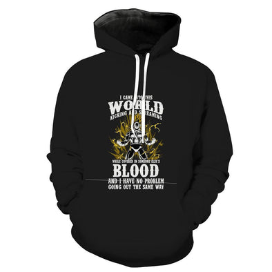 Dragon Ball Vegeta Blood Hoodie - Dragon Ball Vegeta Clothing - Hoodie Now