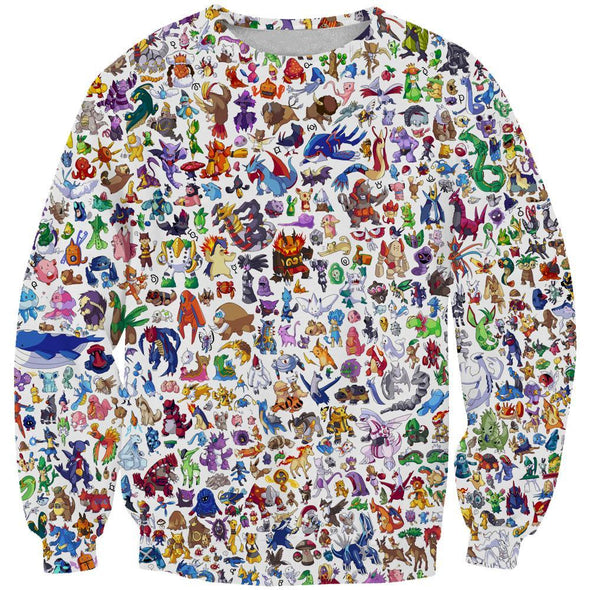 All Pokemon Clothes