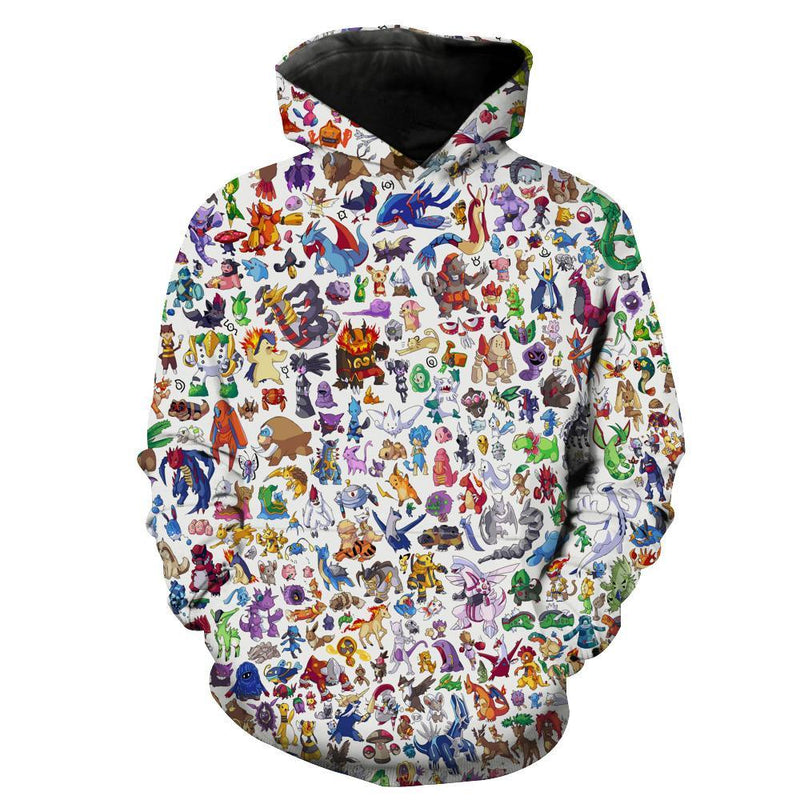 All Pokemon Hoodie