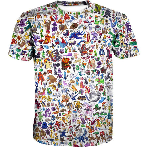 All Pokemon Shirt