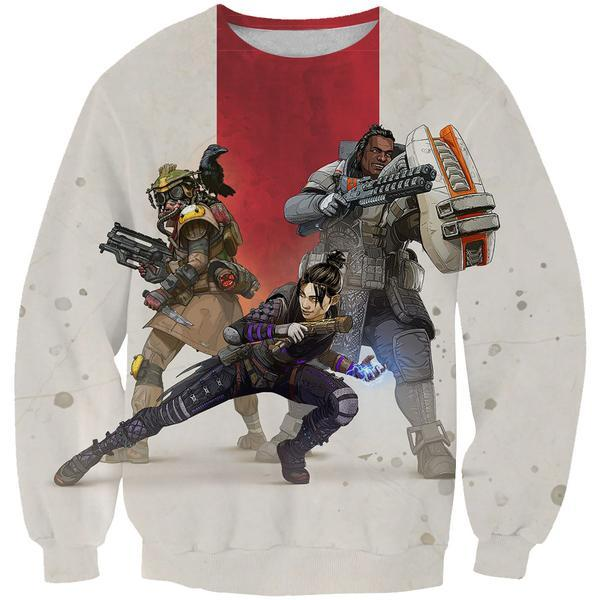 Apex Legends Sweatshirt - Apex Legends Clothing - Hoodie Now
