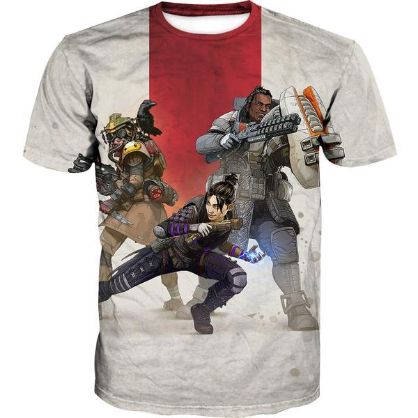 Apex Legends T-Shirt - Apex Legends Clothing - Hoodie Now