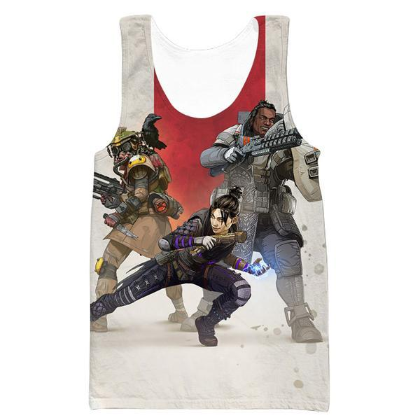 Apex Legends Tank Top - Apex Legends Clothing - Hoodie Now