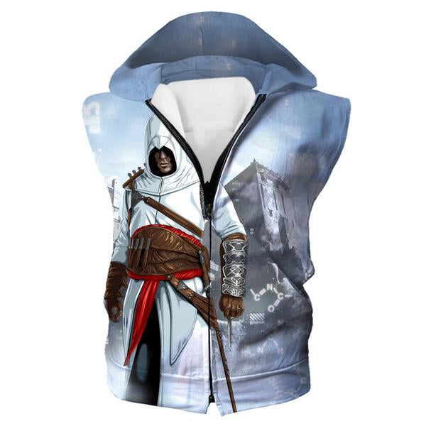 Assassin's Creed Clothing - Desmond Miles Hooded Tank - Hoodie Now