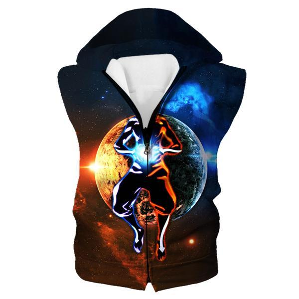 Avatar State Aang Hooded Tank - Avatar the Last Airbender Clothes - Hoodie Now