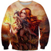Beautiful Dragon Lady Sweatshirt - Fantasy Clothes - Hoodie Now
