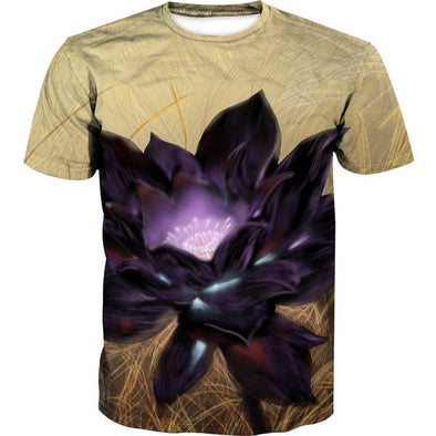 Black Lotus Card T-Shirt - Magic the Gathering Black Lotus Clothes - Hoodie Now