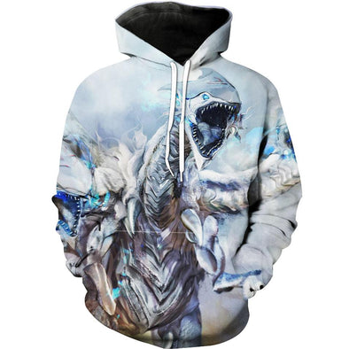 Blue Eyes White Dragon Hoodie