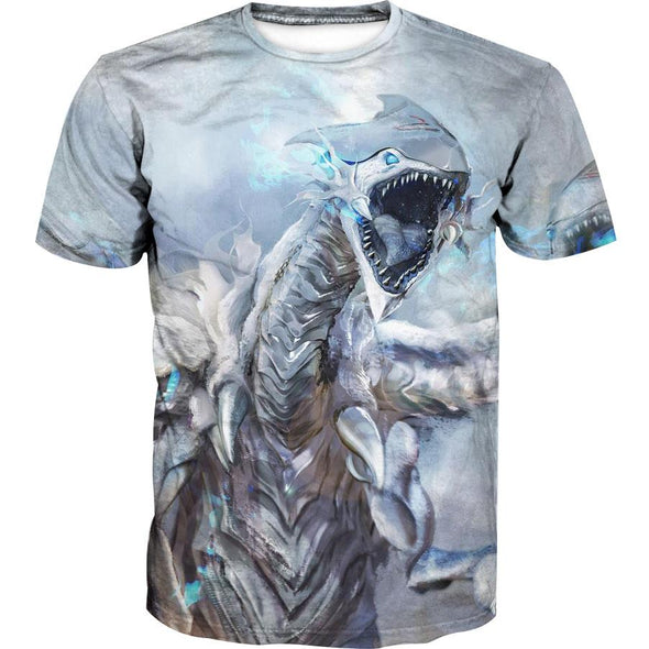 Blue Eyes White Dragon Shirt