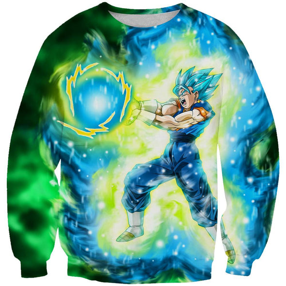Blue Vegetto Clothing