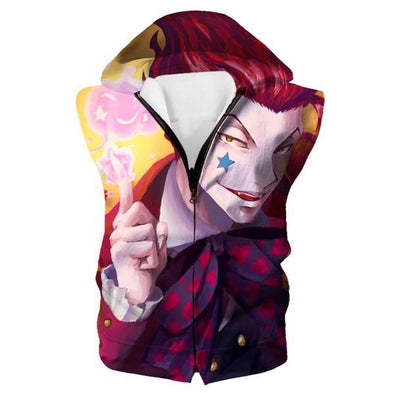 Bungee Gum Hisoka Hooded Tank - Hunter x Hunter Hoodies - Hoodie Now