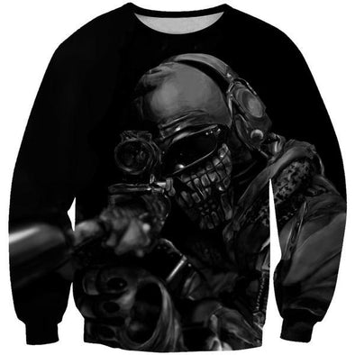 Call of Duty Sniper Sweatshirt - Black Ops Sniper Clothes - Hoodie Now