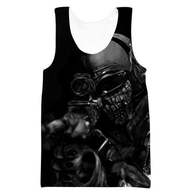 Call of Duty Sniper Tank Top - Black Ops Sniper Clothes - Hoodie Now