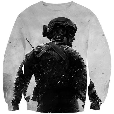 Call of Duty Sweatshirt - Black Ops Blackout Clothes - Hoodie Now