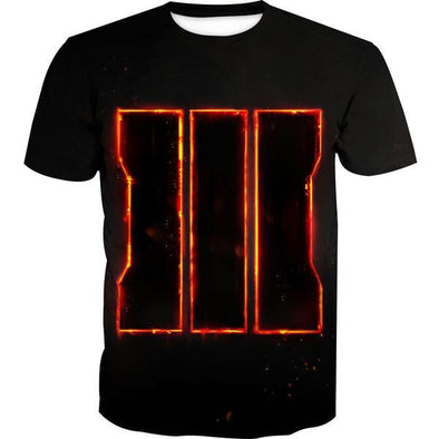 Call of Duty T-Shirt - Black Ops 3 Symbol - Hoodie Now