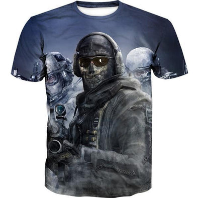 Call of Duty T-Shirt - Call of Duty Clothing - Hoodie Now