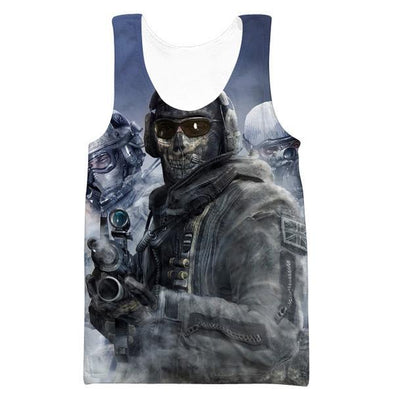 Call of Duty Tank Top - Call of Duty Clothing - Hoodie Now