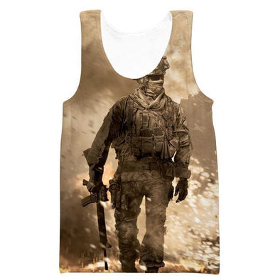 Call of Duty Tank Top - Modern Warfare Clothing - Hoodie Now