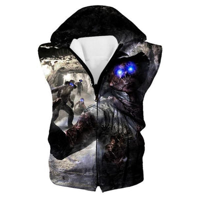 Call of Duty Zombies Hooded Tank - Black Ops Zombie Clothes - Hoodie Now