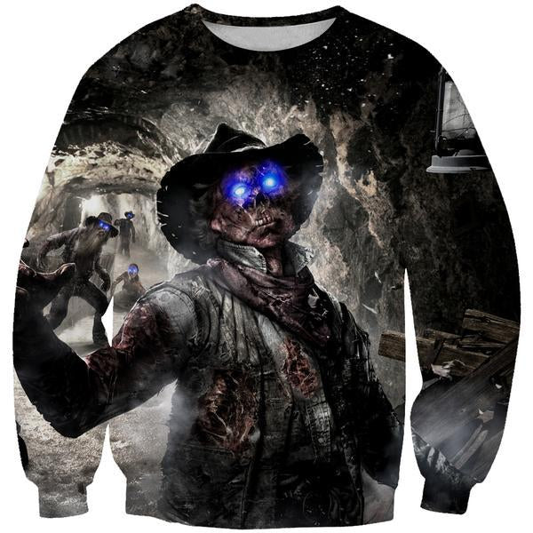 Call of Duty Zombies Sweatshirt - Black Ops Zombie Clothes - Hoodie Now