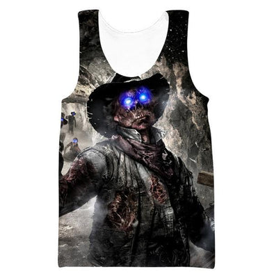 Call of Duty Zombies Tank Top - Black Ops Zombie Clothes - Hoodie Now