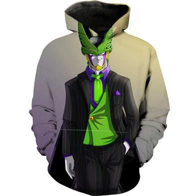 Funny Cell Hoodie DBZ