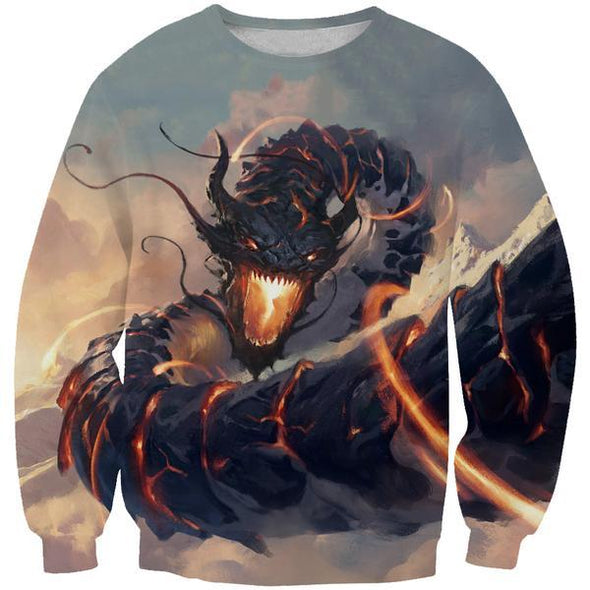 Chinese Dragon Sweatshirt - Epic Fantasy Dragon Sweaters - Hoodie Now