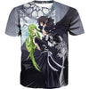 Code Geass Clothing - Lelouch and CC T-Shirt - Anime Clothes - Hoodie Now