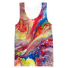 Colorful Paint Tank Top - Colorful Clothing - Hoodie Now
