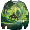 Zelda Sweatshirt - Link Sweater - Legend of Zelda Clothing - Hoodie Now