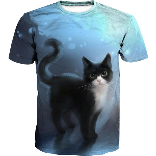 Cute Cat T-Shirt - Cat Clothing - Hoodie Now