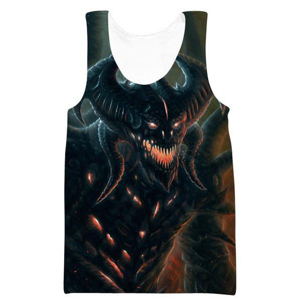 Diablo 3 Tank Top - Diablo Clothing and Gym Shirts - Hoodie Now