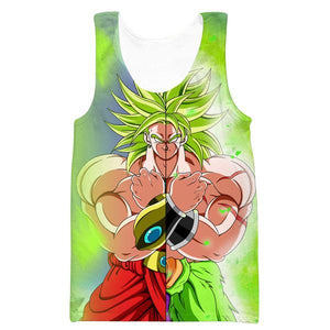 Dragon Ball Broly Movie Tank Top - Dragon Ball Super Broly Clothes - Hoodie Now