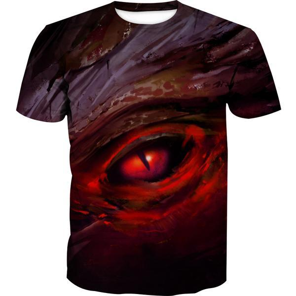 Dragon Eye T-Shirt - Fantasy Dragon Clothes - Hoodie Now