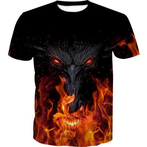 Epic Dragon T-Shirt - Fantasy Themed Clothing - Hoodie Now