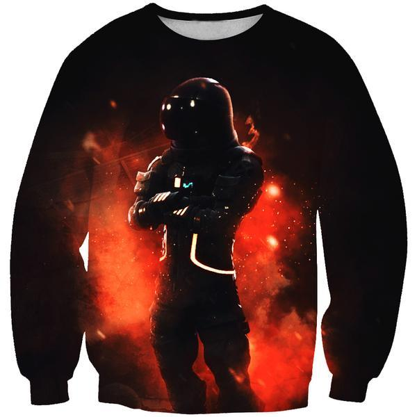 Fortnite Astronaut Skin Sweatshirt - Fortnite Clothing and Sweaters - Hoodie Now